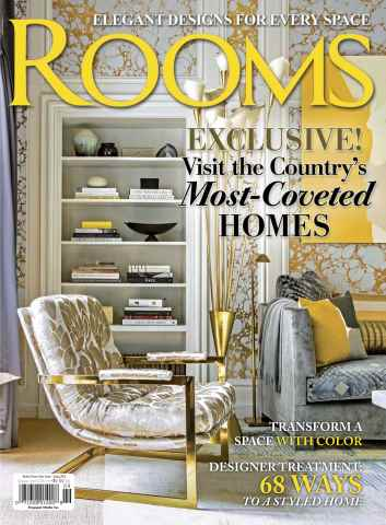 Romantic Homes issue Rooms Spring 2016