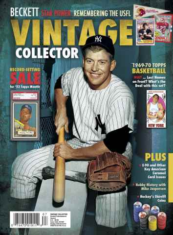Beckett Baseball issue Vintage Collector Special-2 2015