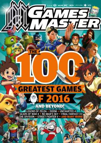 GamesMaster issue January 2016