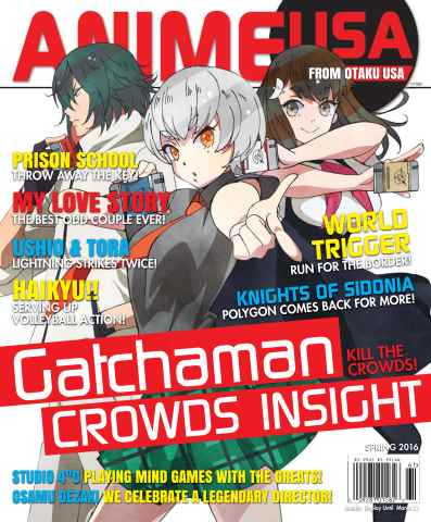 Otaku issue Otaku USA's Latest All-Anime Special!