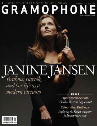 Gramophone issue January 2016