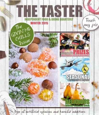 The Taster Magazine issue Winter 2015-16