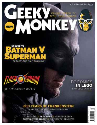 Geeky Monkey issue Geeky Monkey 004