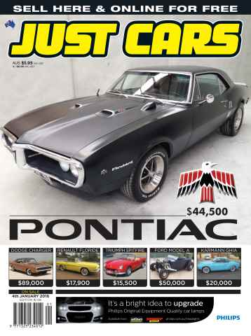 JUST CARS issue 16-006