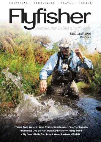 Flyfisher issue  DEC-MAY 25