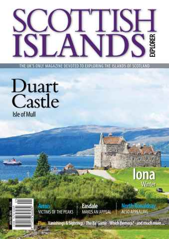 Scottish Islands Explorer issue Jan - Feb 2016