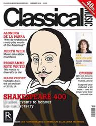 Classical Music issue January 2016