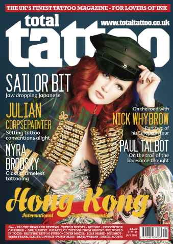 Total Tattoo issue TTM 135