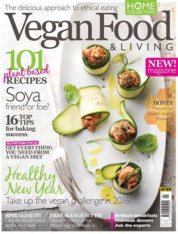Vegan Food & Living issue Spring 2016