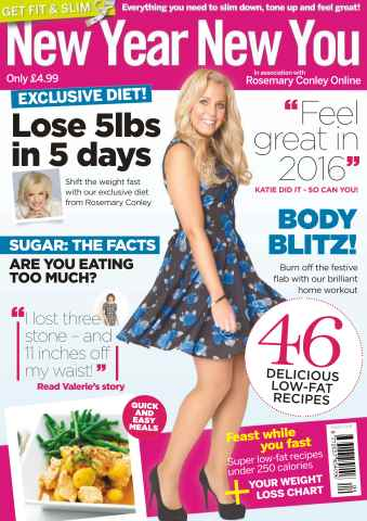 Get Slim Get Fit issue No. 4 New Year New You