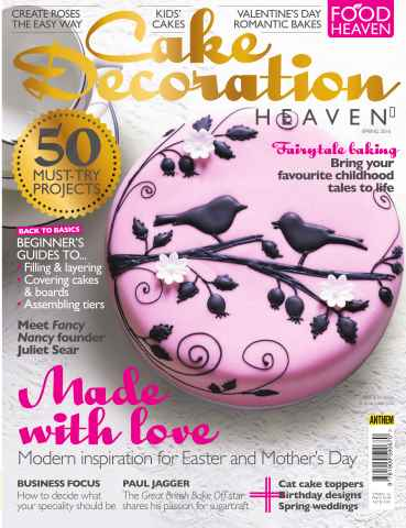 Cake Decoration Heaven issue Spring 2016