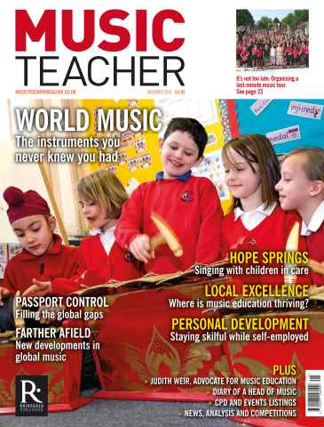 Music Teacher issue January 2016