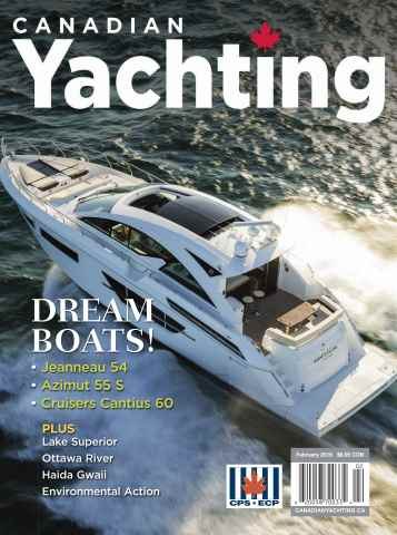 Canadian Yachting issue February 2016