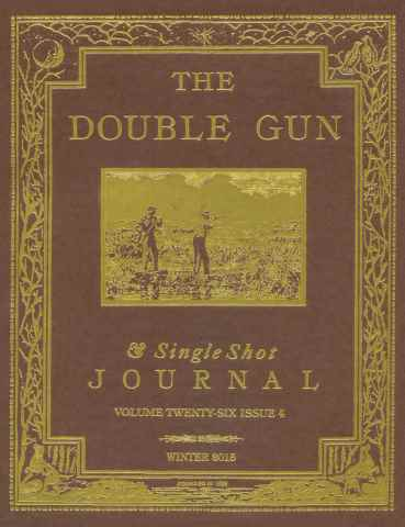 Double Gun and Single Shot issue Winter 2015