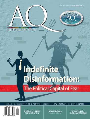 AQ: Australian Quarterly issue AQ: Australian Quarterly 87.1