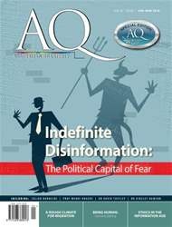 AQ: Australian Quarterly 87.1 issue AQ: Australian Quarterly 87.1
