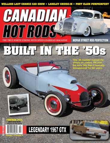 Canadian Hot Rods issue febmar2016