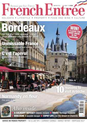 FrenchEntree issue Issue 114: Jan/Feb 2016