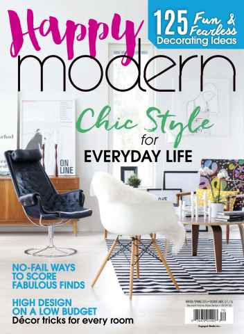 Romantic Homes issue Happy Modern Winter-Spring 2016
