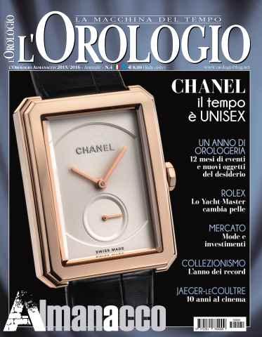 L'Orologio issue SpecialeOrologio 2015/2016