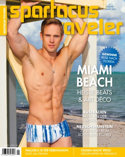Spartacus Traveler issue Januar – März 2016