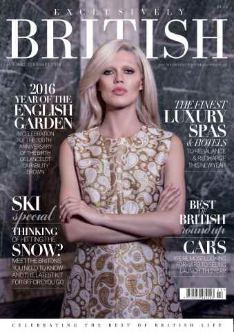 Exclusively British issue Jan/Feb 2016