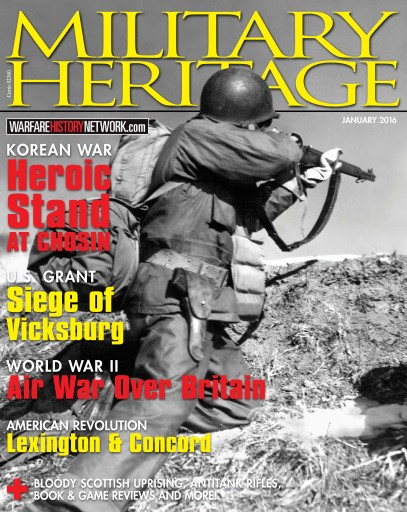 Military Heritage issue January 2016