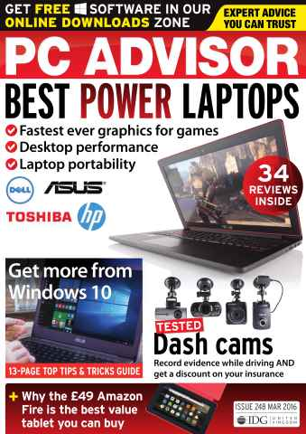 PC Advisor issue March 2016