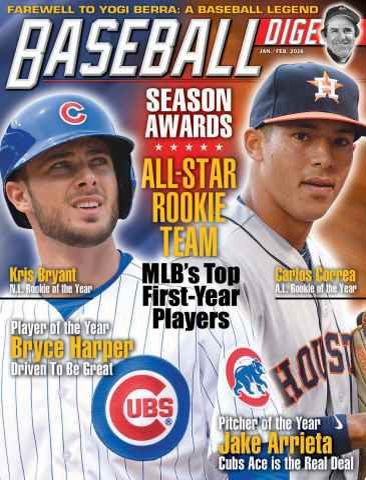Baseball Digest issue Jan/Feb 2016