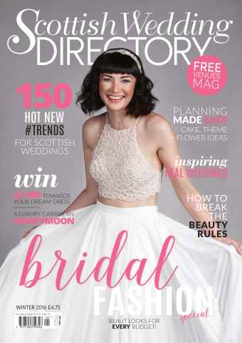 The Scottish Wedding Directory issue Winter 2015