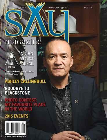Say Magazine issue Winter 2016
