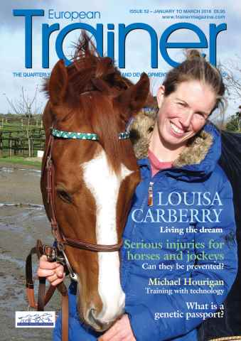 European Trainer Magazine - horse racing issue Issue 52 - January-March 2016