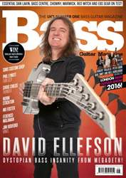 Bass Guitar issue February 2016