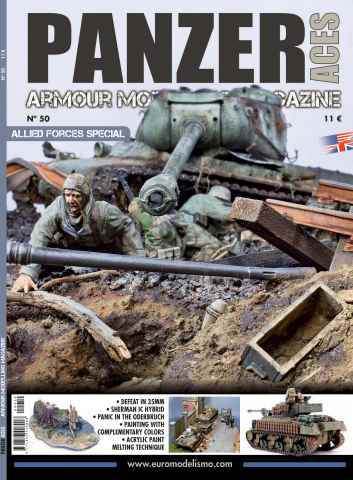 Panzer Aces issue Panzer Aces 50