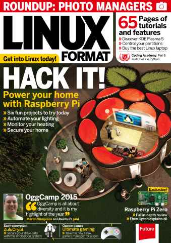 Linux Format issue January 2016