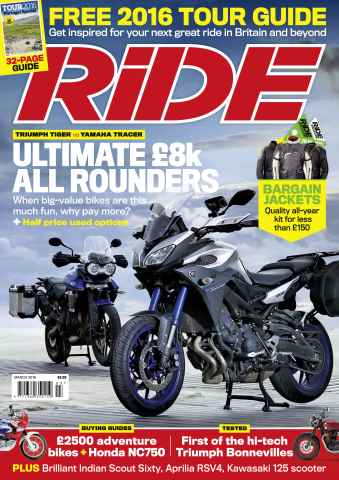 Ride issue March 2016