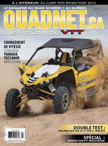 Quadnet issue Fév Mars 2016