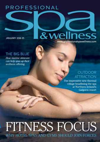 Professional Spa & Wellness issue PSW JAN 16
