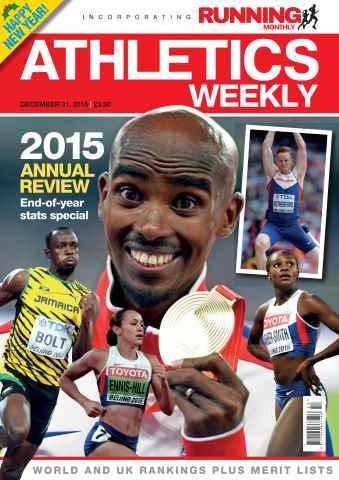 Athletics Weekly issue 31 December 2015
