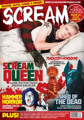 Scream Magazine issue Jan/Feb 16
