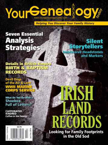 Your Genealogy Today issue Jan-Feb 2016