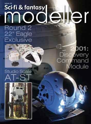 Sci-Fi and Fantasy Modeller issue Volume 40