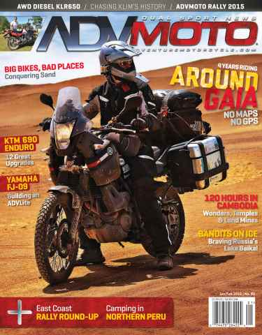 Adventure Motorcycle issue ADVMoto Jan/Feb 2016