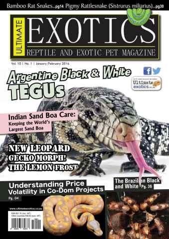 Ultimate Exotics issue January/February 2016