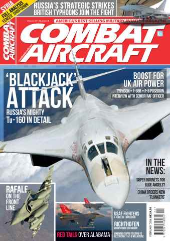 Combat Aircraft issue February 2016