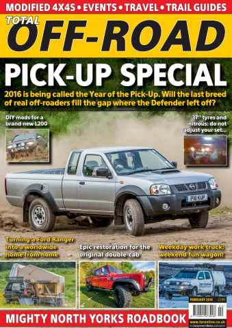 Total Off Road Magazine issue February 2016