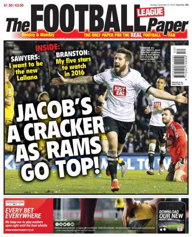 The Football League Paper issue 27th December 2015