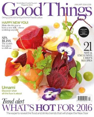 Good Things Magazine issue January 2016