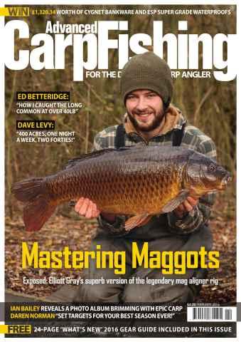 Advanced Carp Fishing issue February 2016