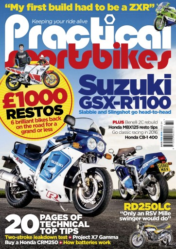 Practical Sportsbikes issue February 2016